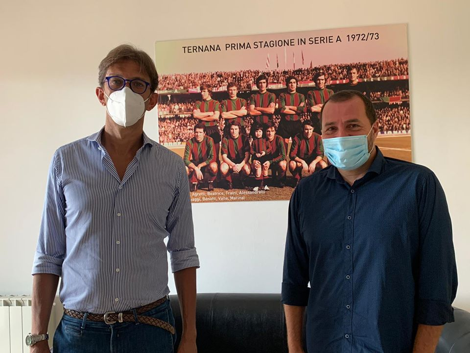 Paolo Tagliavento e Valerio Caroli