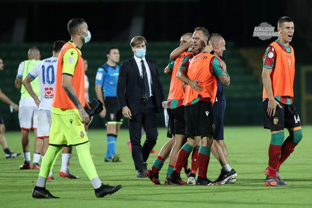 i rossoverdi post Ternana-Catania