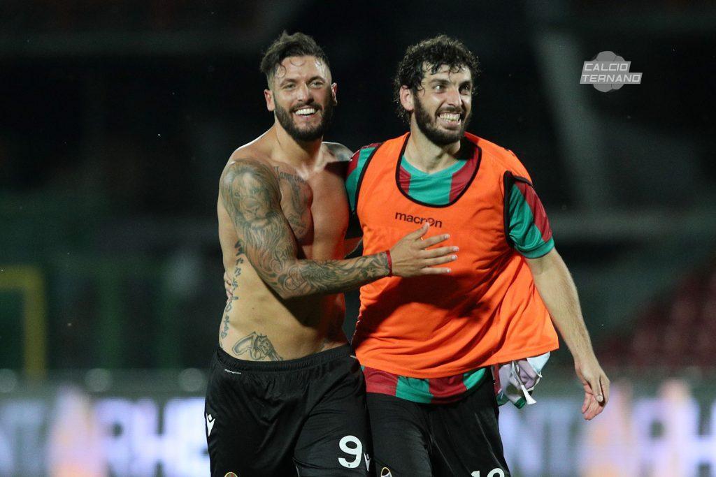 Ferrante e Marilungo a fine match