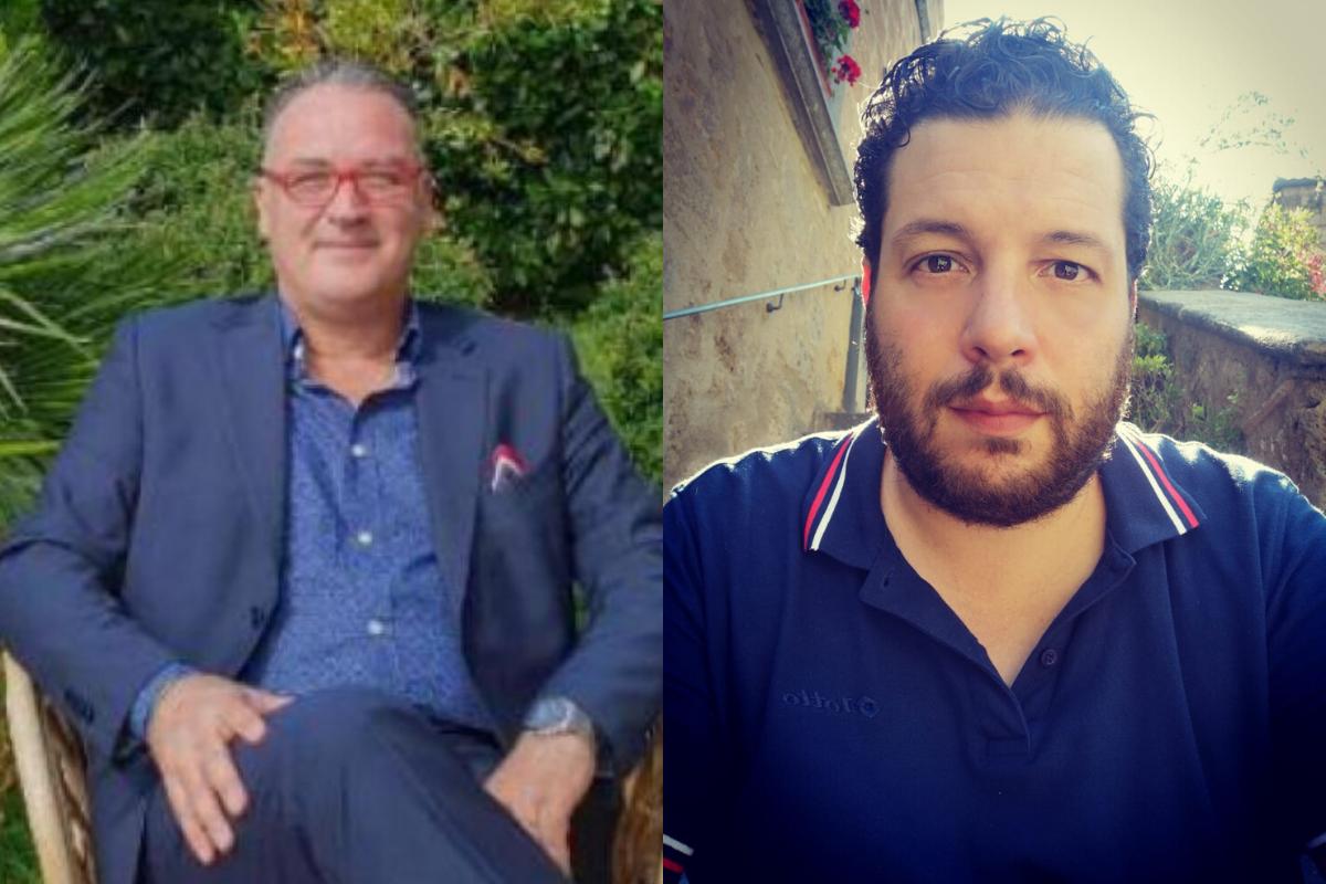 Francesco Siciliano e Stefano Lucarini