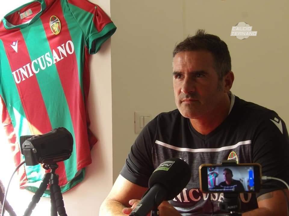 Cristiano Lucarelli tecnico della Ternana