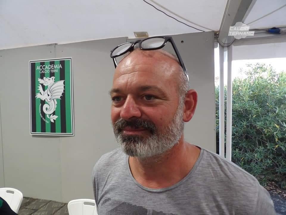Alerssandro Santini tecnico Accademia calcio Terni