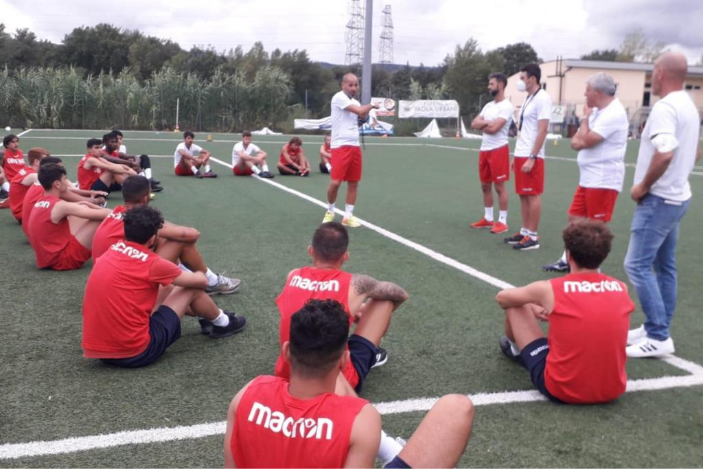 La preparazione dell'Orvietana calcio