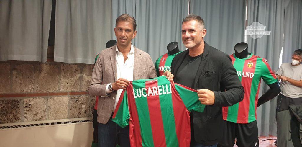 Lucarelli e Tagliavento con la maglia
