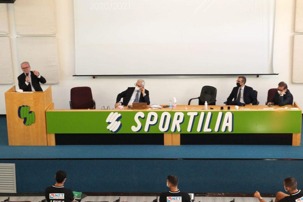 Lega Pro Ghirelli alla conferenza