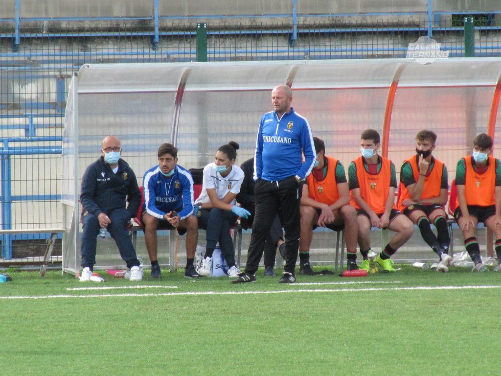 L'allenatore Mirko Pagliarini