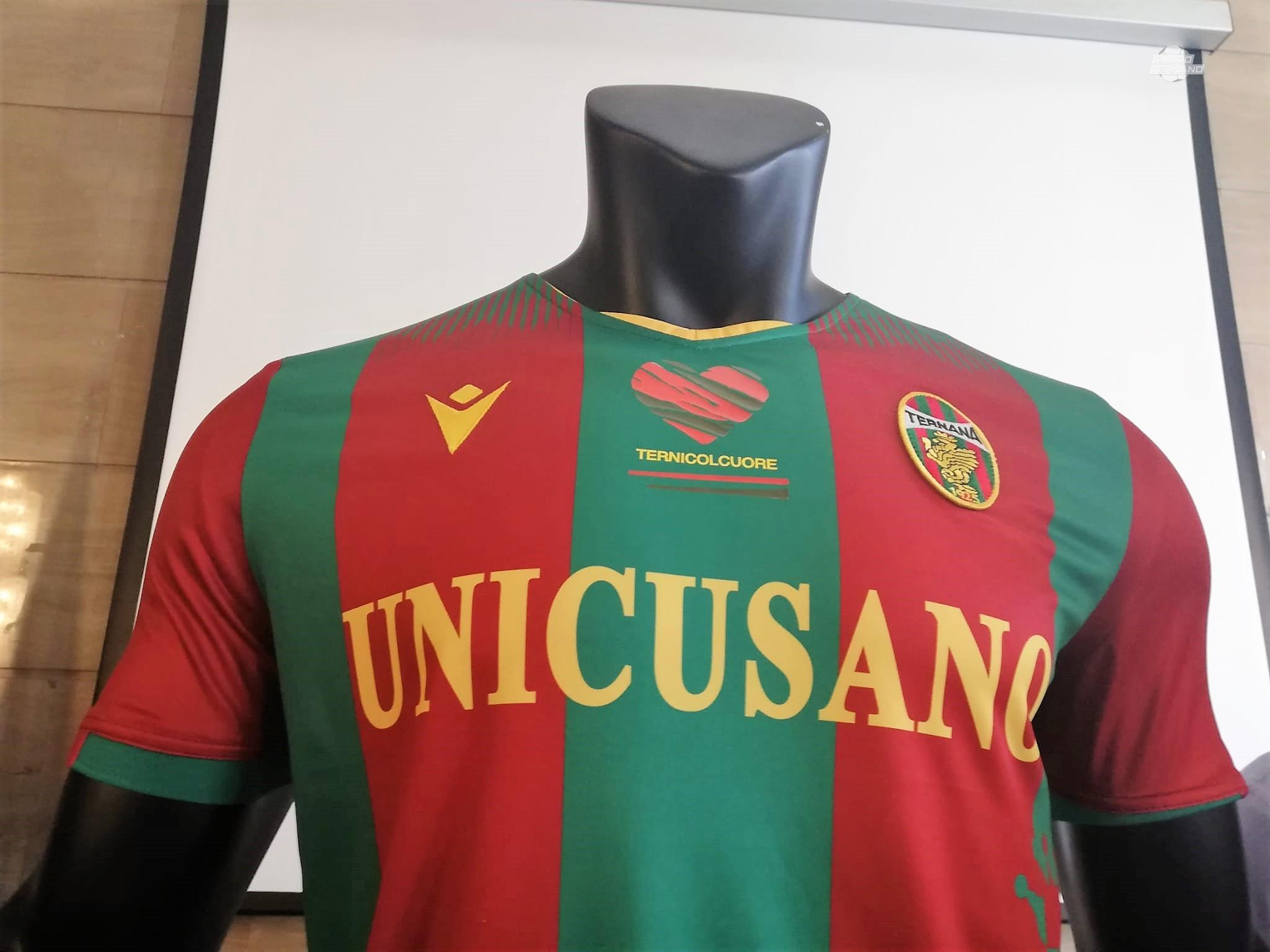 colletto prima maglia ternana 2020/21