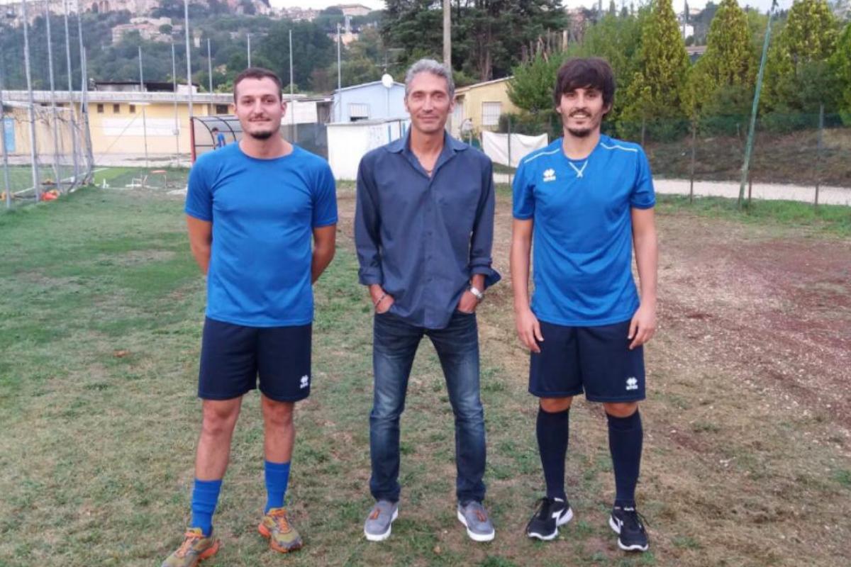 mencarino turchi tavoloni - foto Amerina calcio