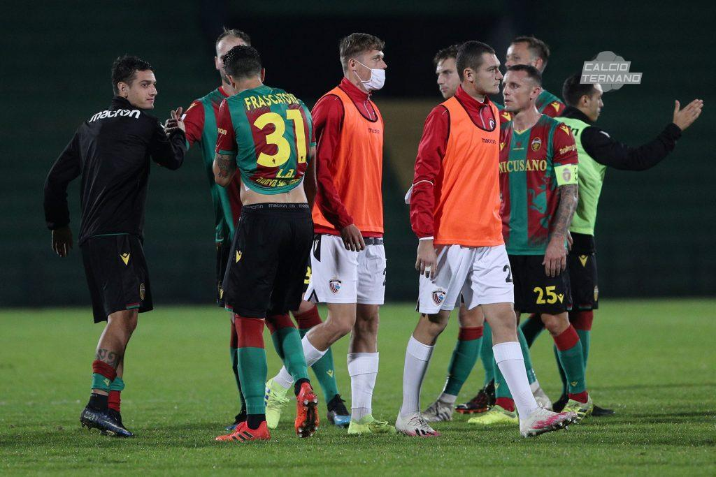 Ternana-Foggia post partita
