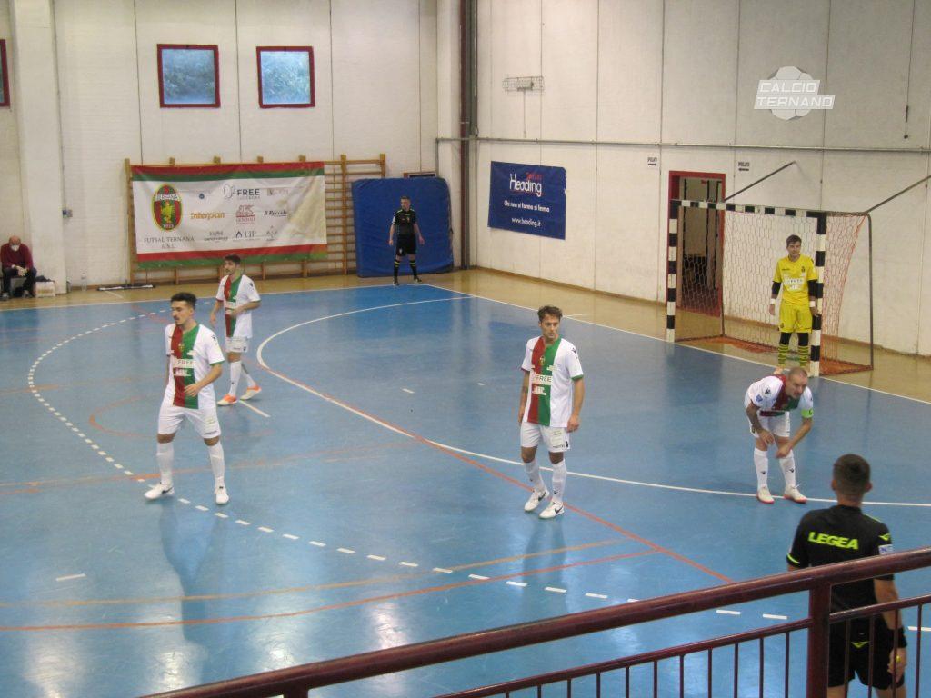 Futsal Ternana in azione