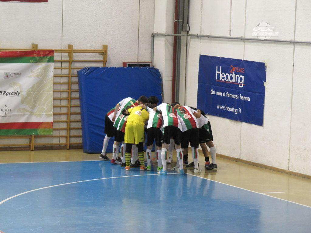 La Futsal Ternana ad inizio match