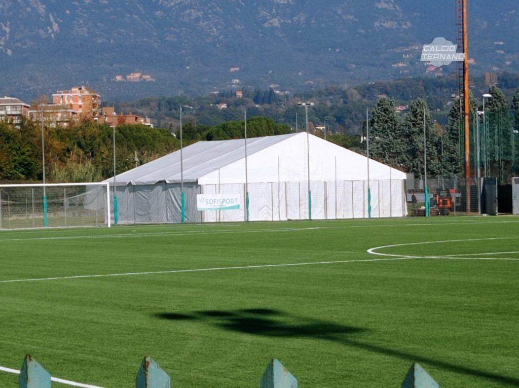 tenda struttura Ternana