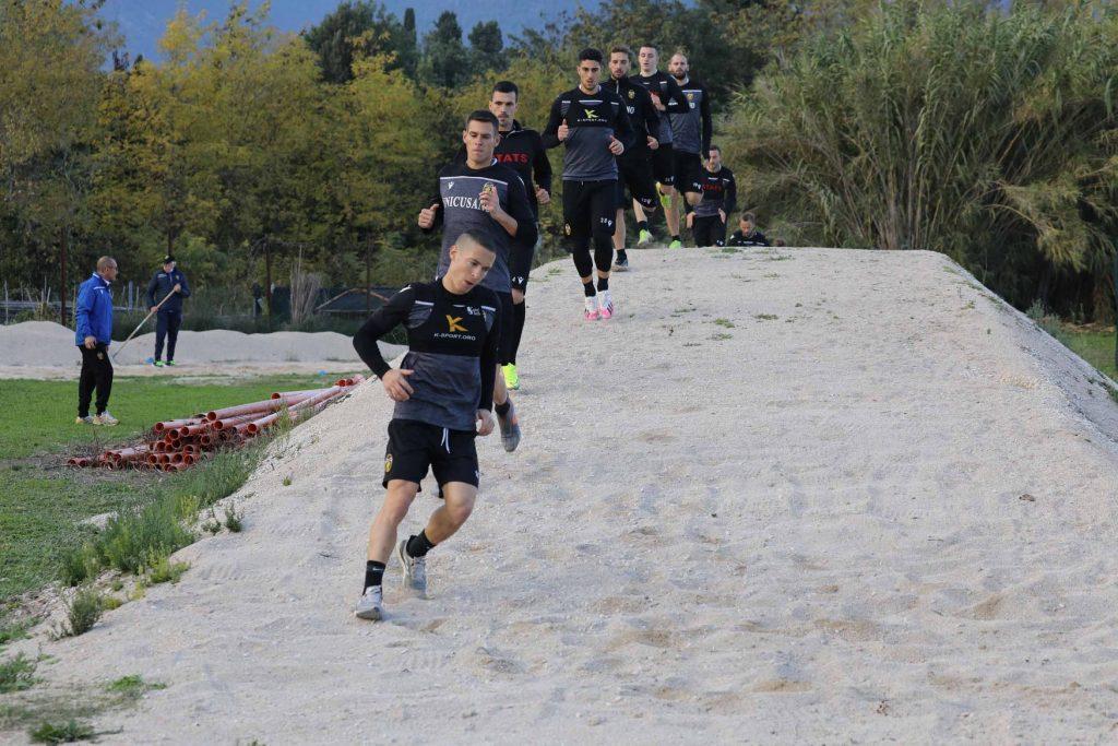 allenamento della Ternana