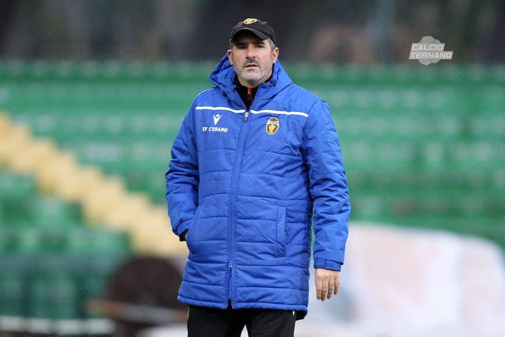 il tecnico Lucarelli