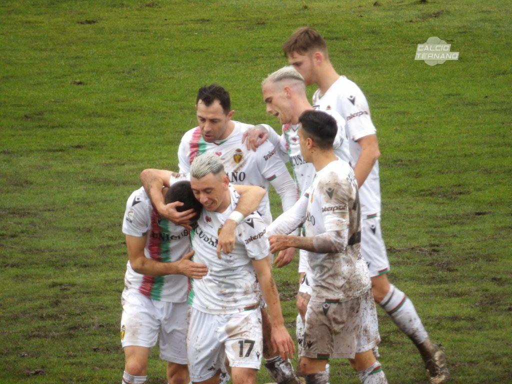Esultanza al gol di Furlan