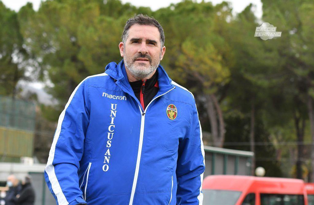 l'allenatore della Ternana
