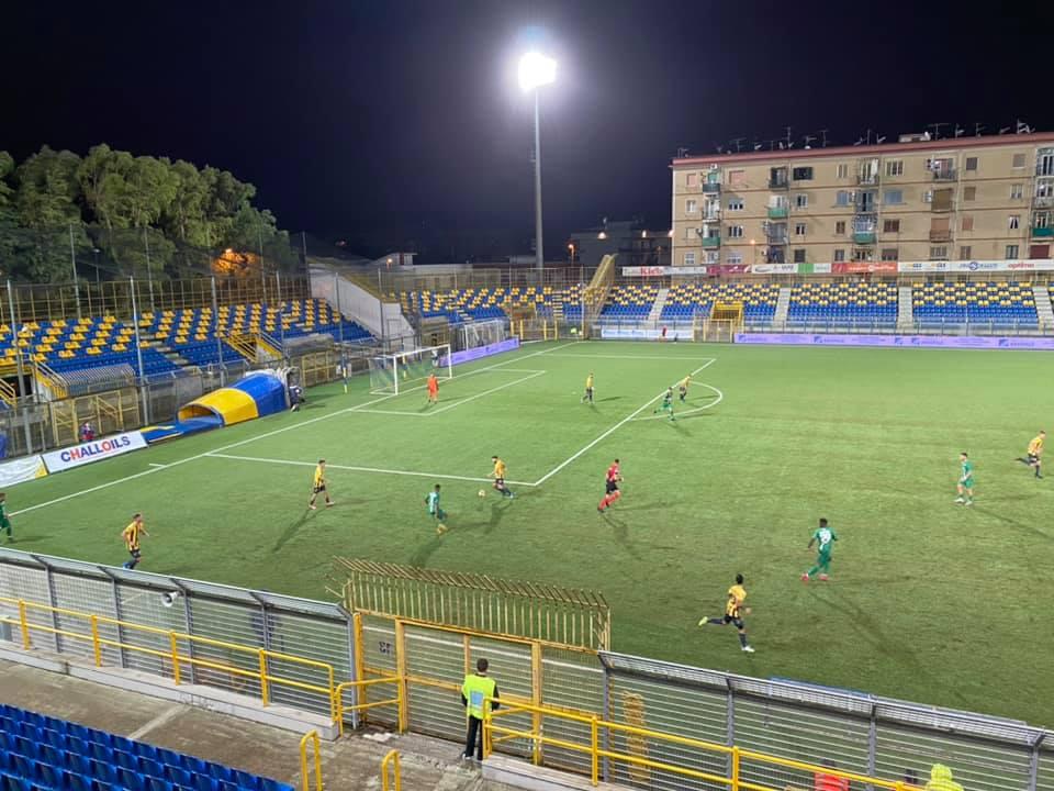 lo stadio Menti di Castellammare di Stabia