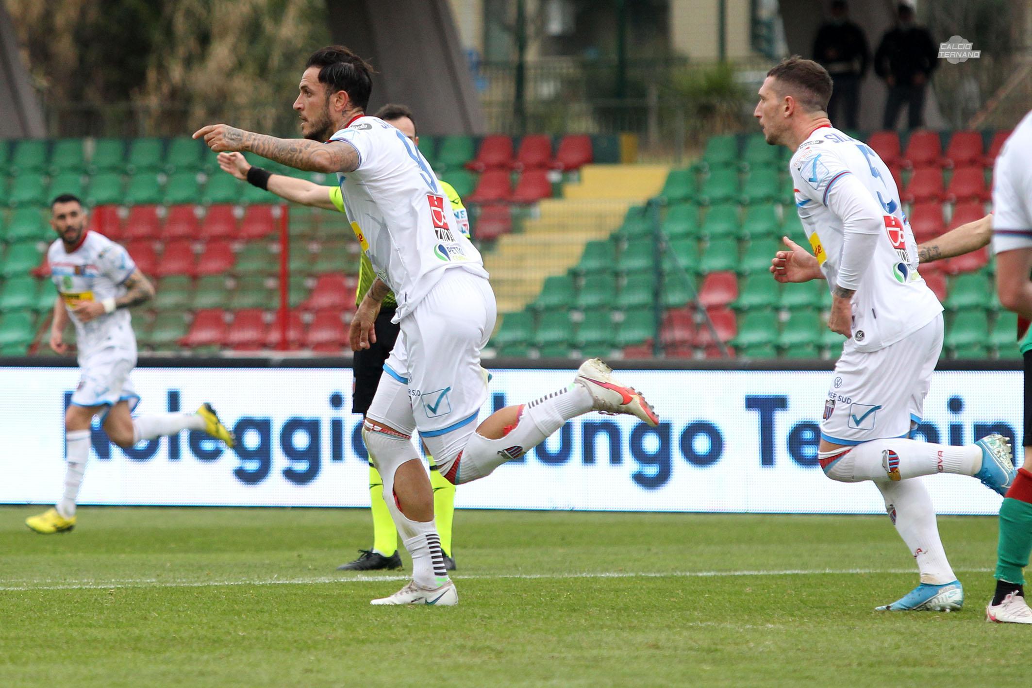 Ternana Catania gol sarao