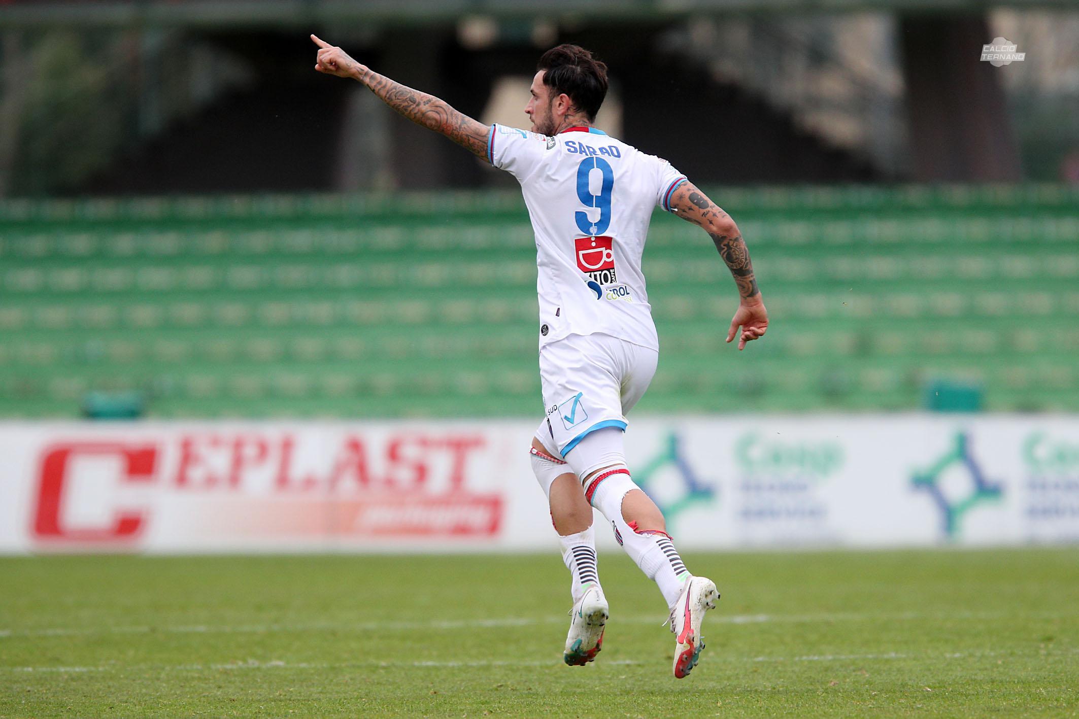 Ternana Catania sarao gol