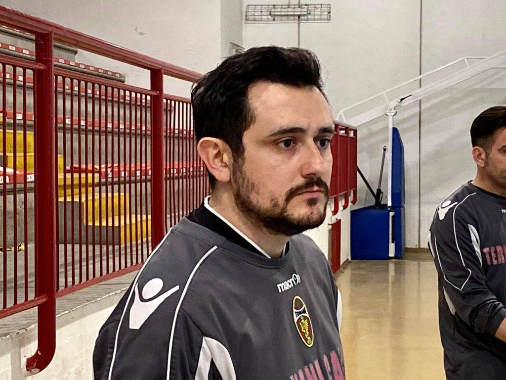 L'allenatore della Ternana Futsal Under 19