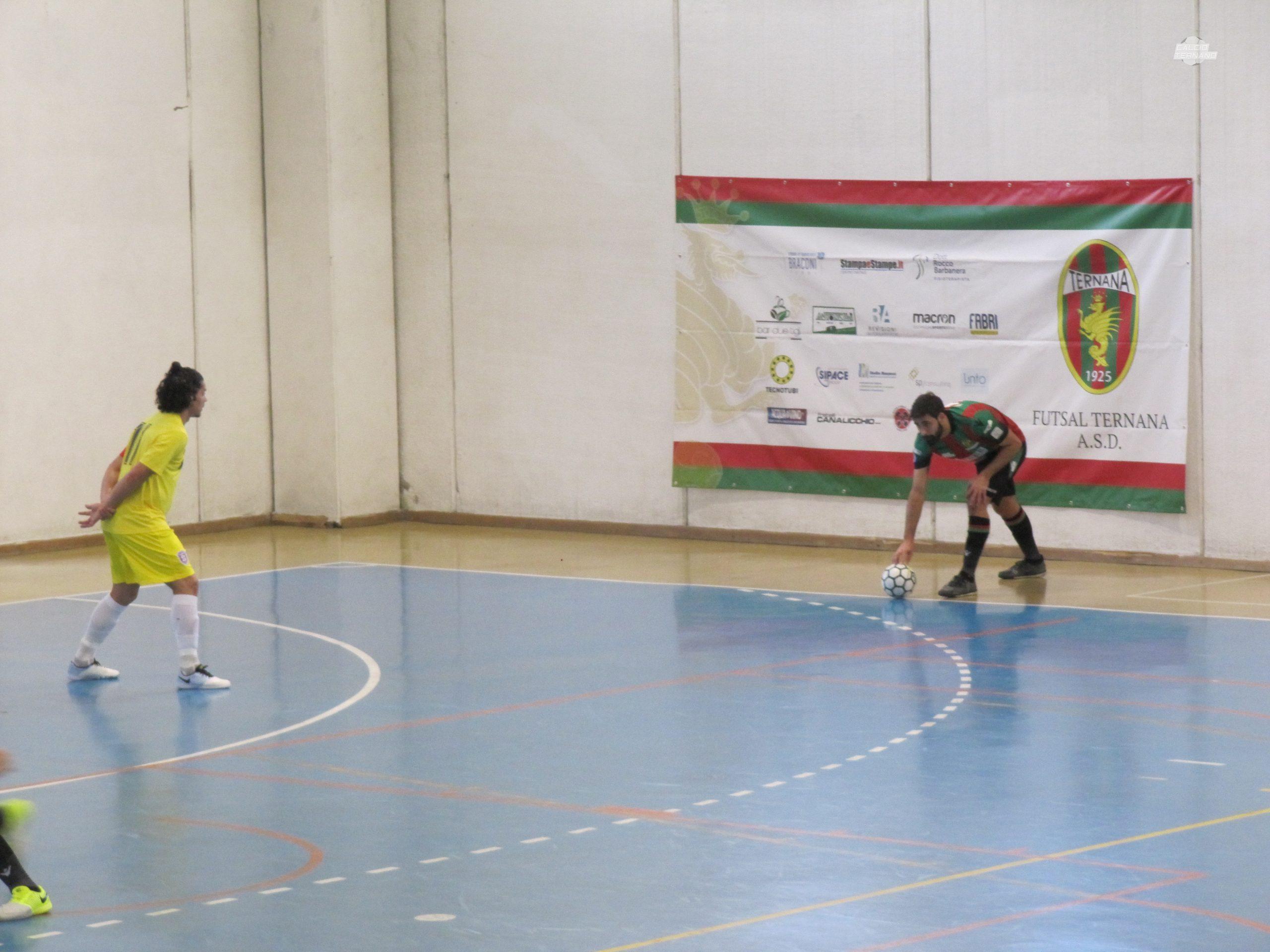 Futsal Ternana vs Eta Beta Paolucci