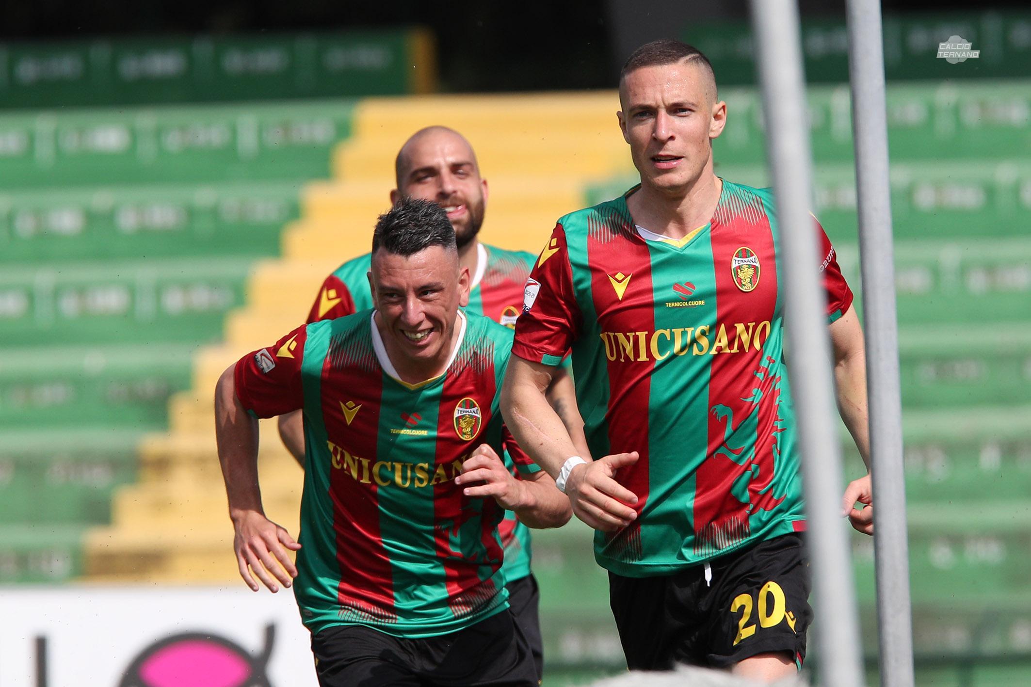Ternana-Avellino paghera gol