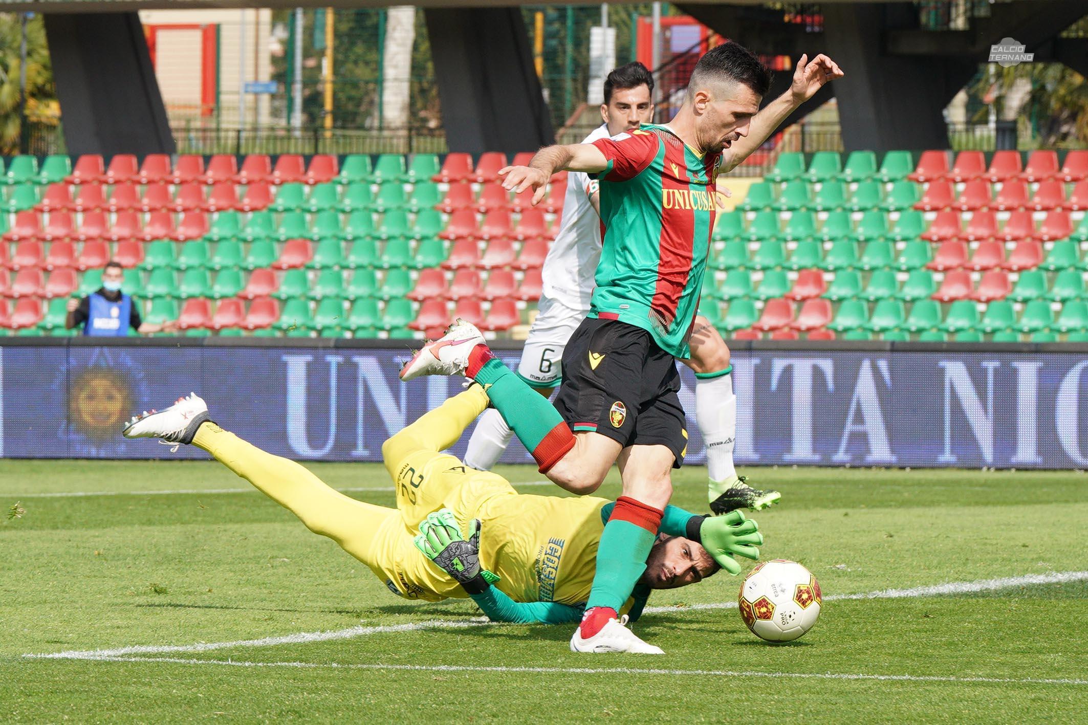 Ternana-Avellino furlan gol