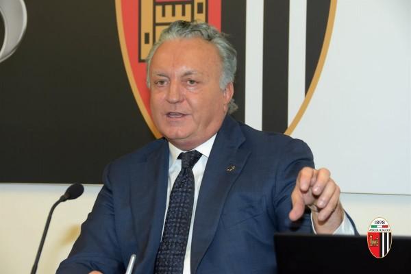Massimo Pulcinelli Presidente Ascoli