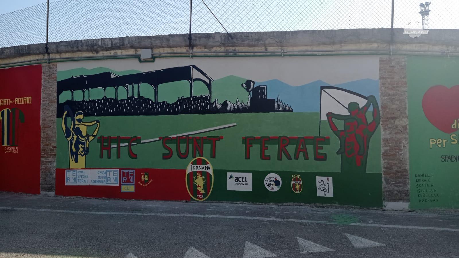 murale della Ternana