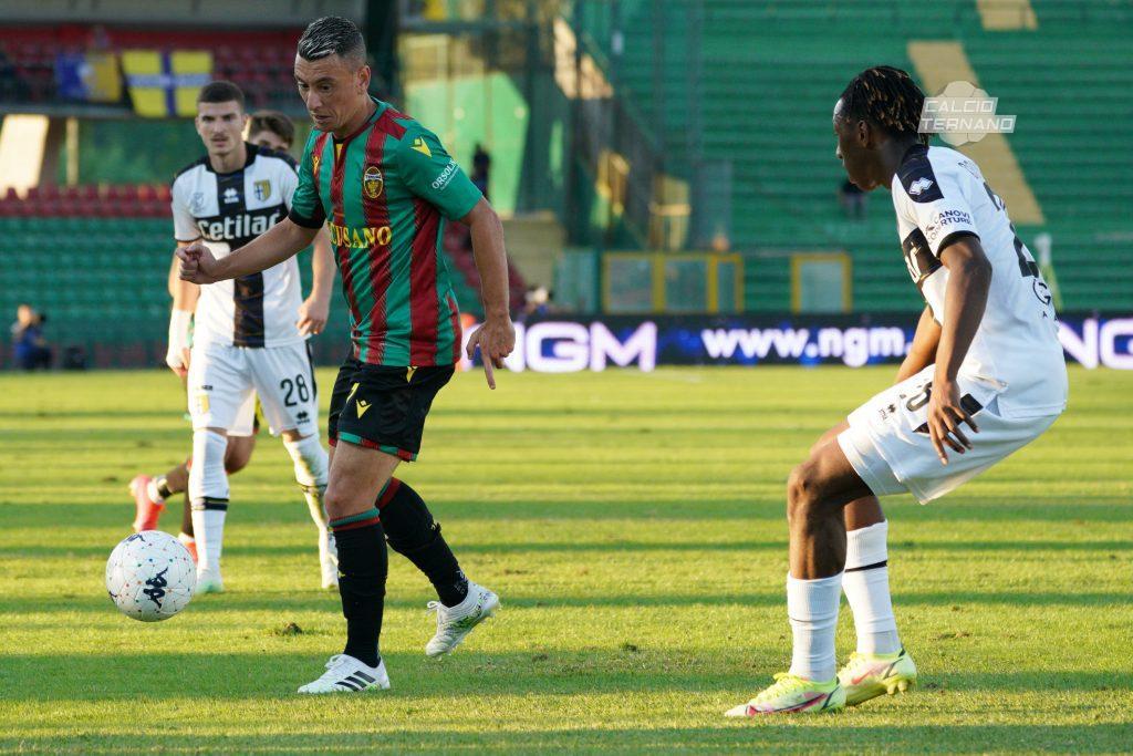 Cesar Falletti in azione