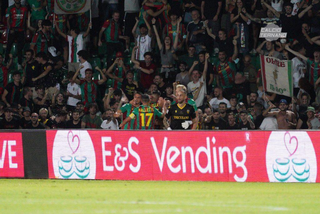 il gol di Marino Defendi della Ternana