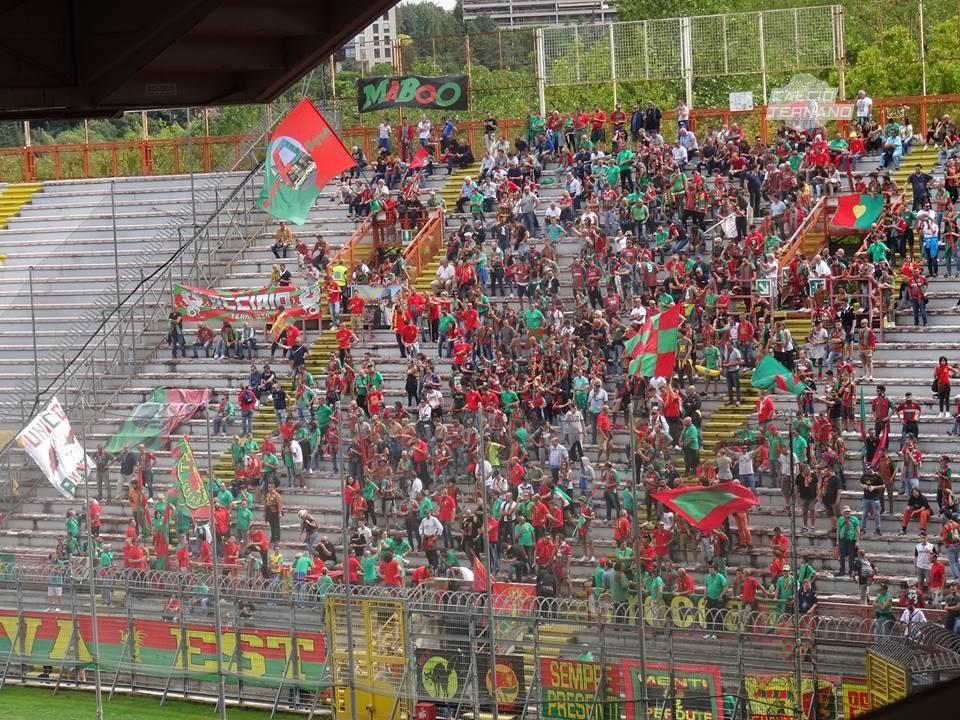 derby tifosi della Ternana