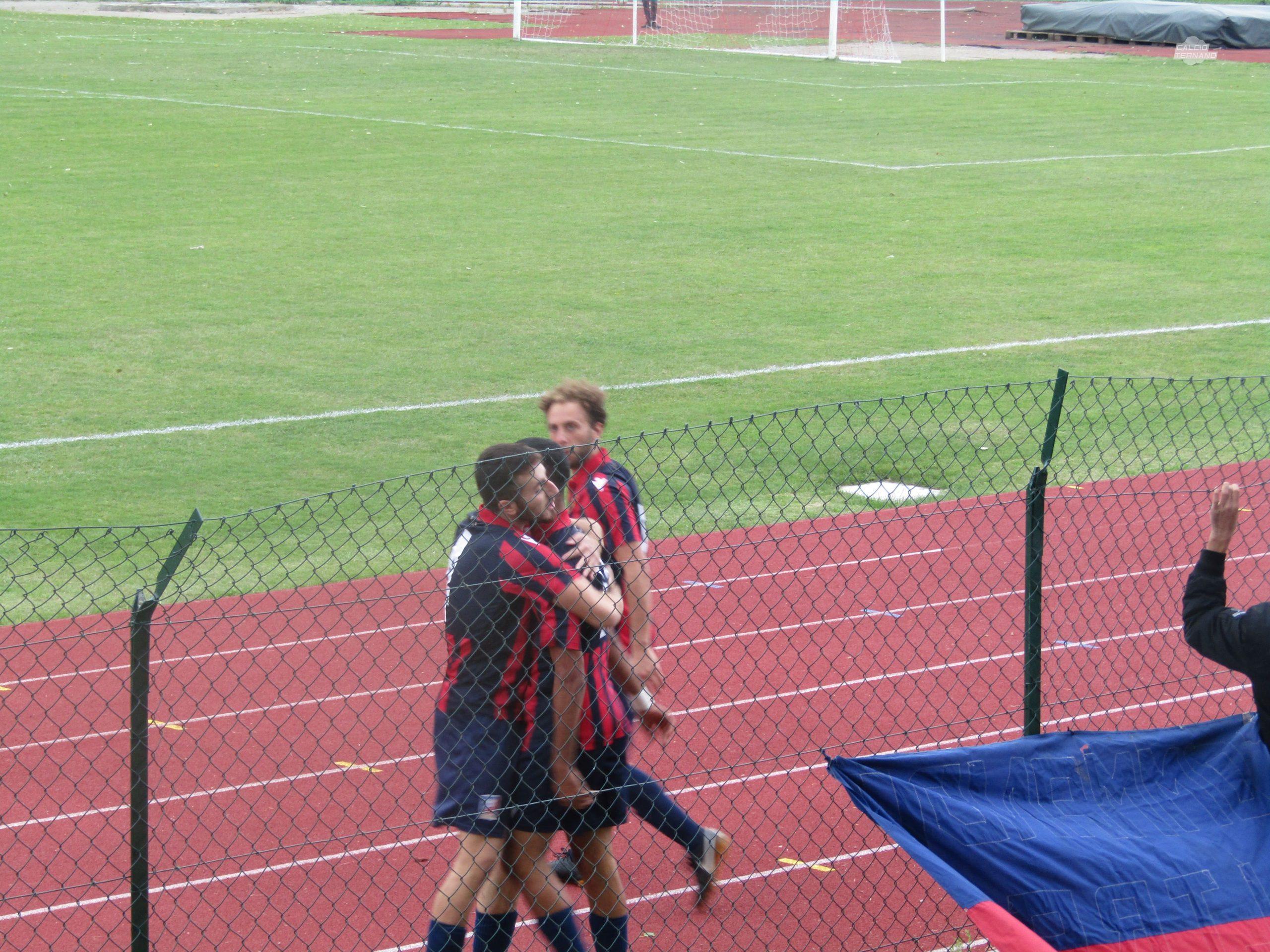 Il gol di Zhar in Castiglione del Lago-Narnese