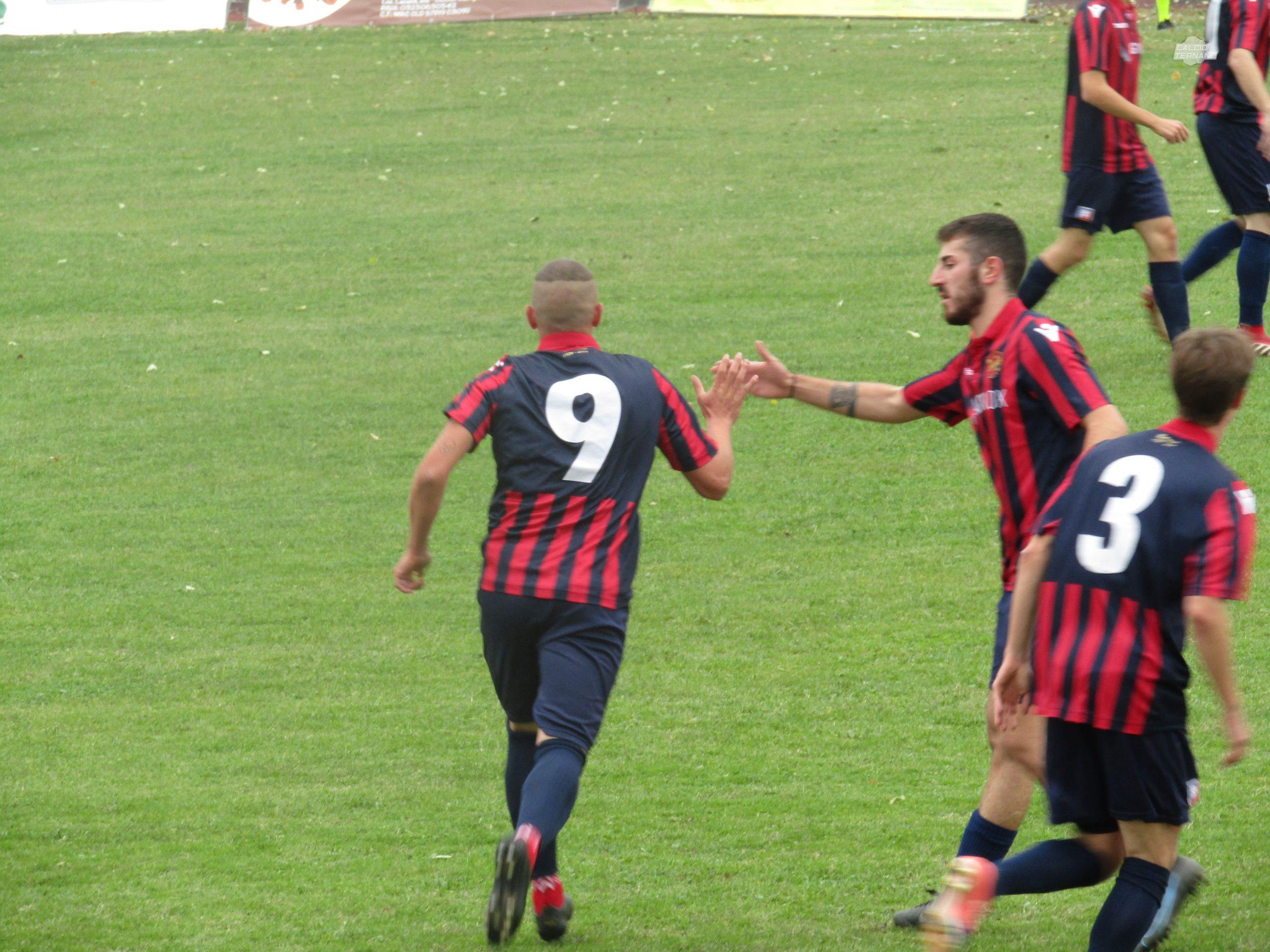 Il gol di Andrea Bagnato in Castiglione del Lago-Narnese